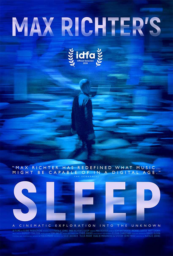 Max Richter's Sleep Poster