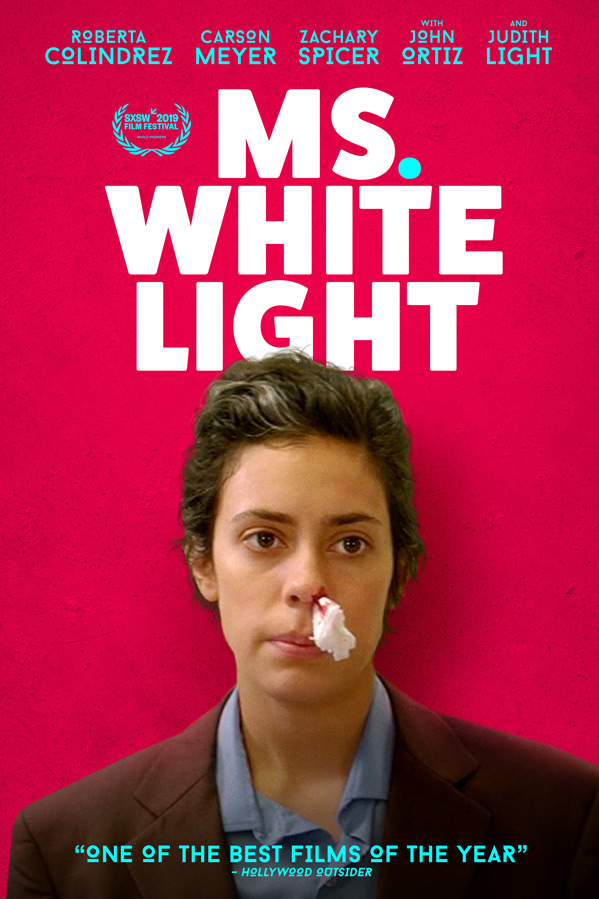 Ms. White Light Poster