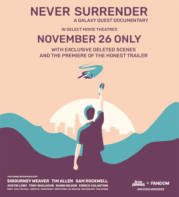 Never Surrender Doc Poster