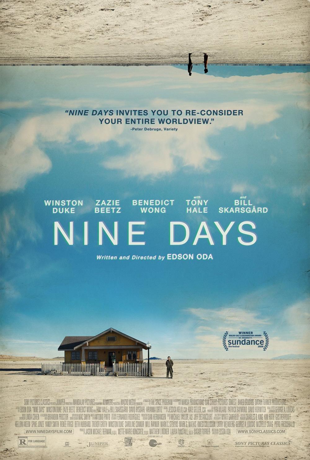 Nine Days Poster