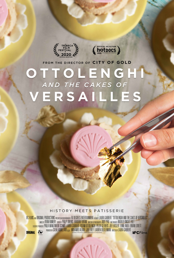 Ottolenghi and the Cakes of Versailles Poster