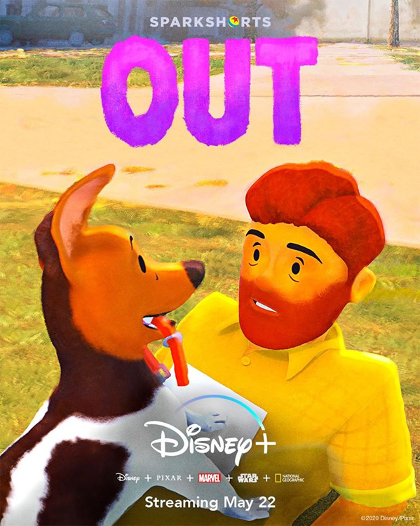 Pixar's latest short film 'Out' features first gay main character