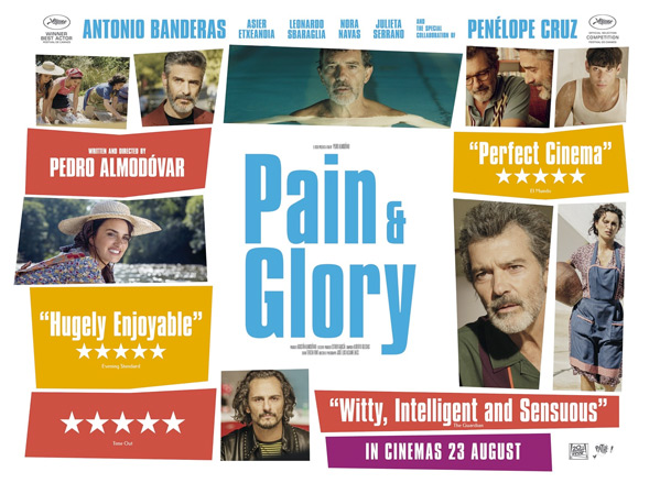 Pain & Glory UK Poster