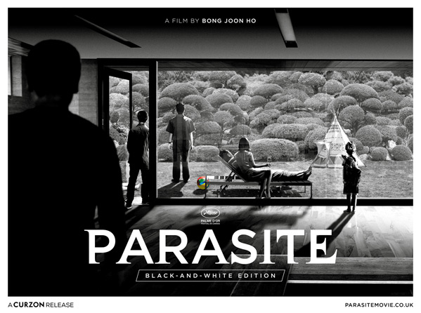 Parasite B&W Poster