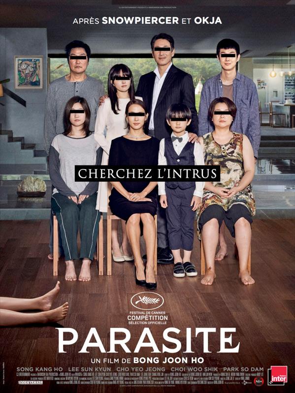 Parasite Film Poster US