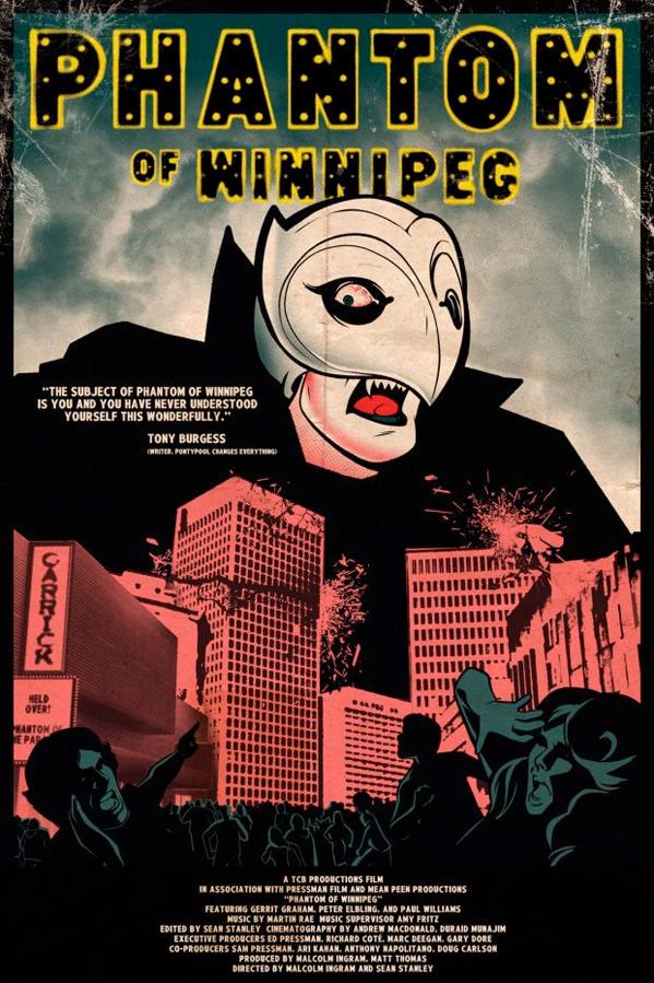 Phantom of Winnipeg Poster