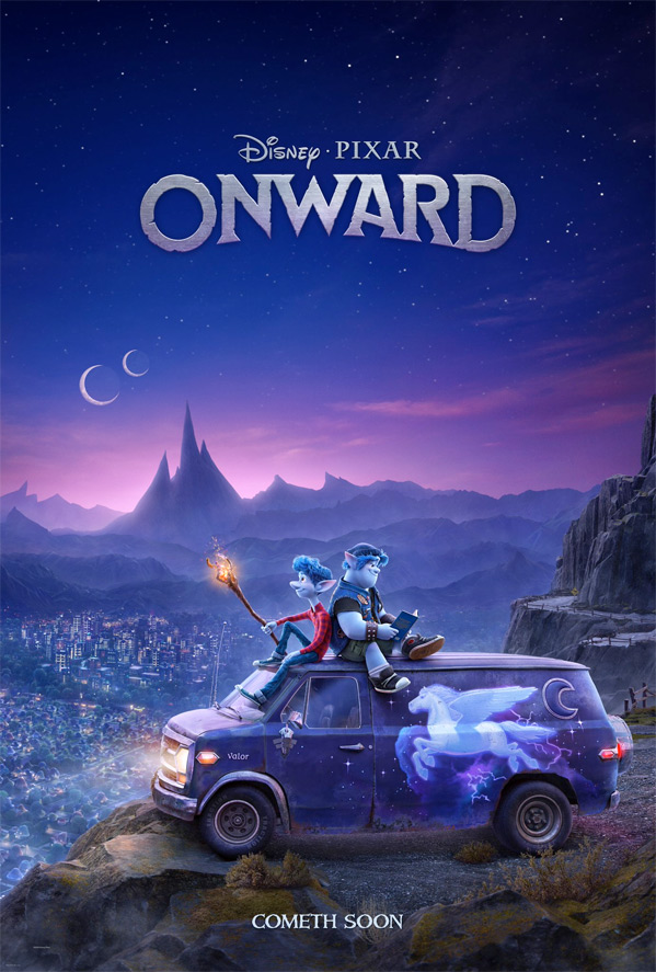 Pixar's Onward Poster