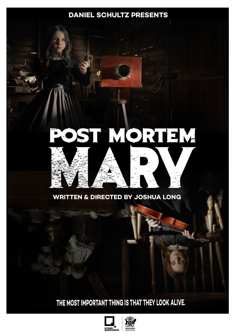 Post Mortem Mary Poster