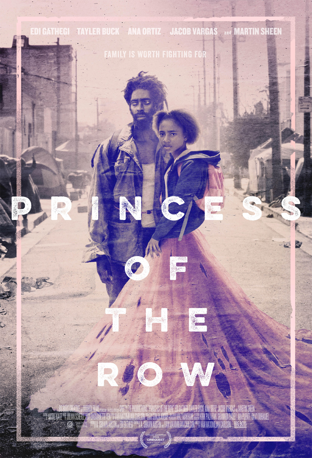 Princess of the Row Poster