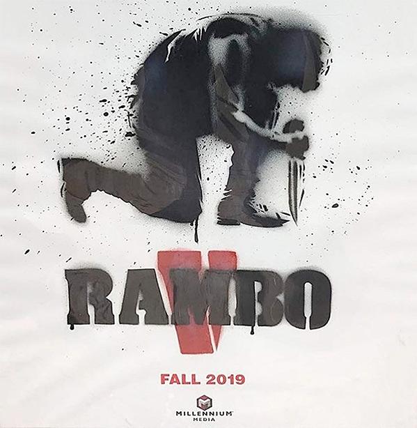 Rambo V Poster