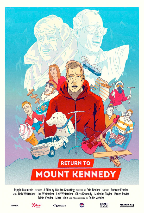 Return to Mount Kennedy Poster