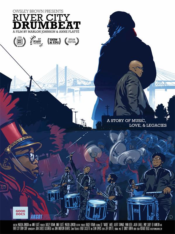 River City Drumbeat Doc Poster