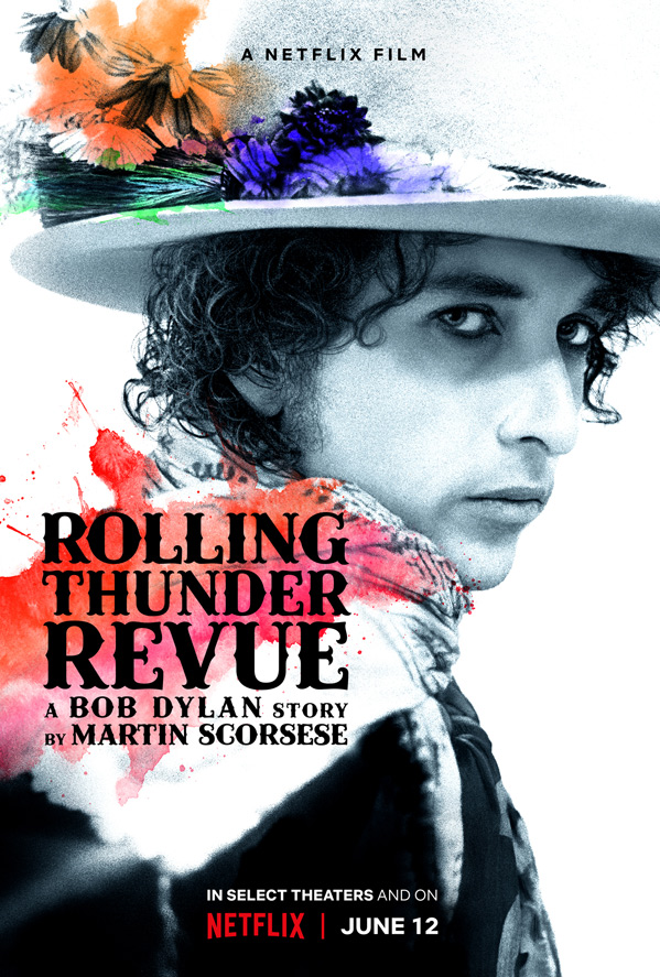 Rolling Thunder Revue: A Bob Dylan Story Poster