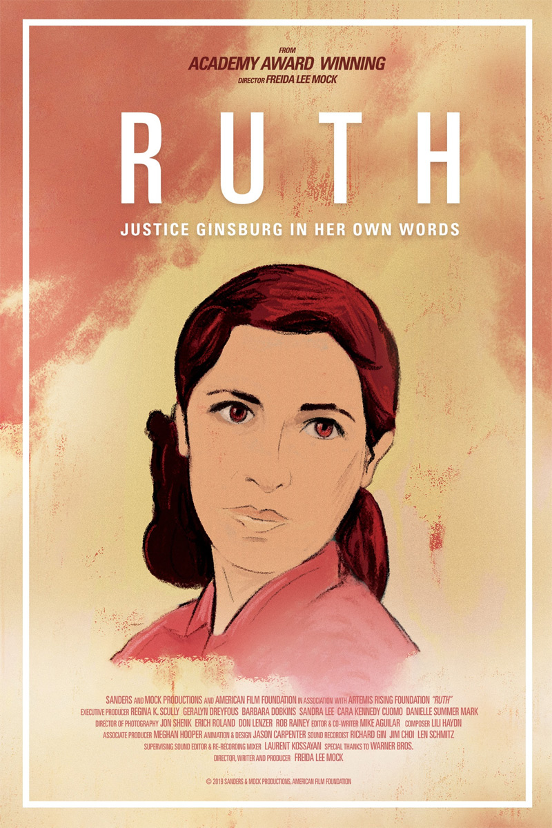 Ruth: Justice Ginsburg In Her Own Words Poster