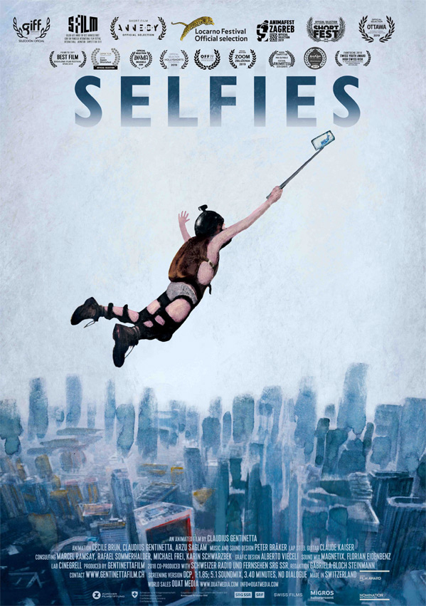 Selfies Short Film Poster