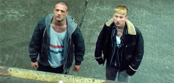 Cosmo Jarvis & Barry Keoghan in 'The Shadow of Violence' US Trailer