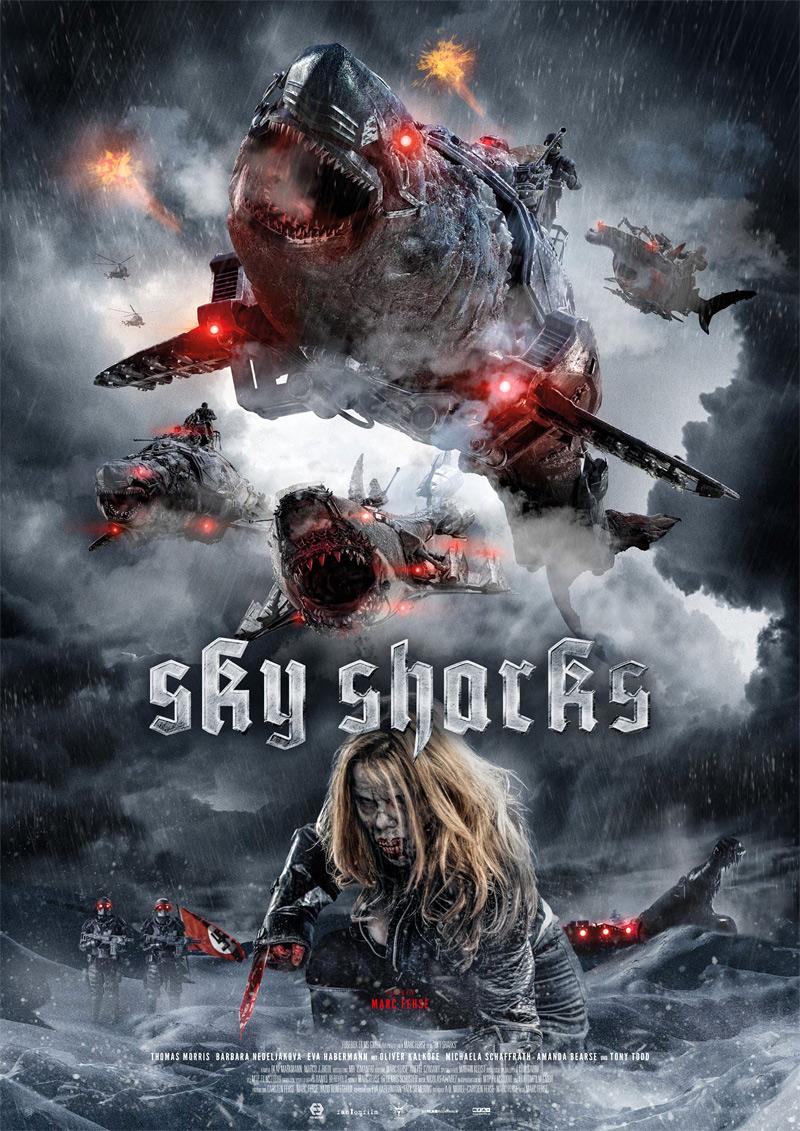 Sky Sharks Poster