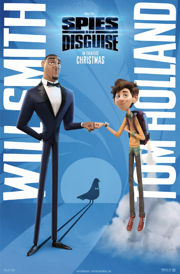 Spies In Disguise Poster