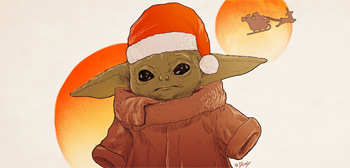 Happy Holidays - Baby Yoda