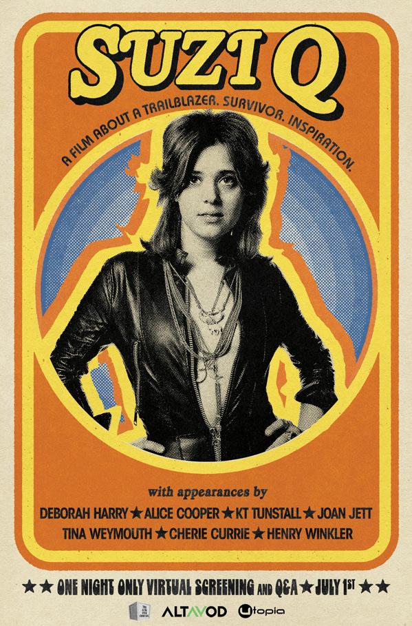 Suzi Q Doc Poster