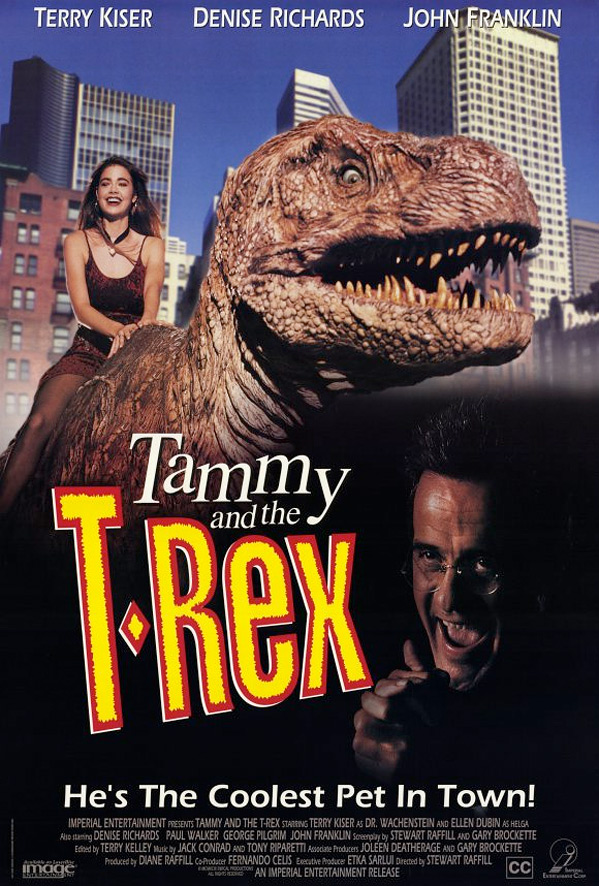 Tammy & The T-Rex Poster