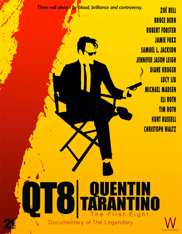 QT8: The First Eight Doc Poster