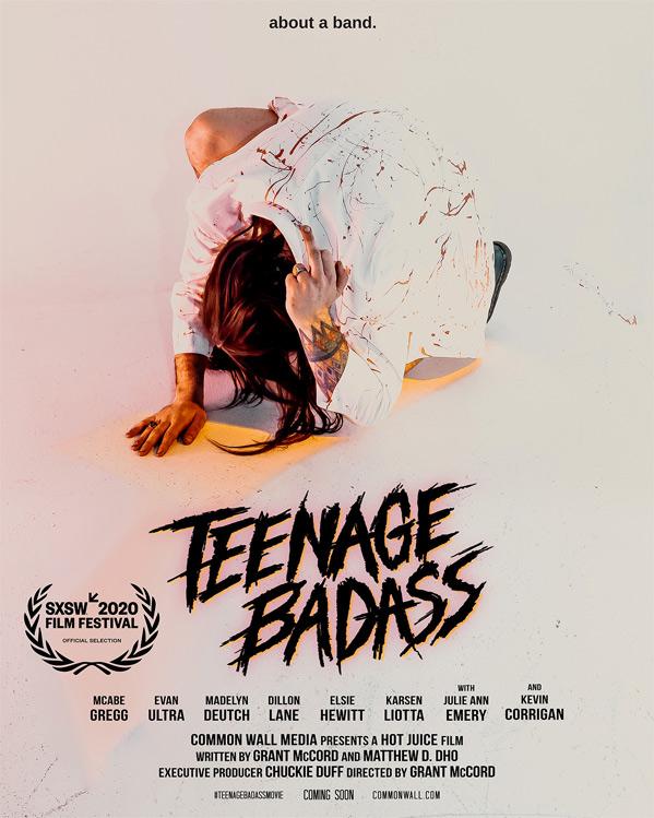 Teenage Badass Poster