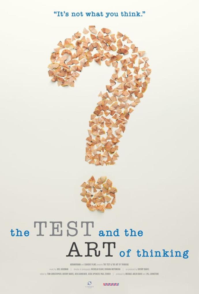The Test & The Art of Thinking Poster