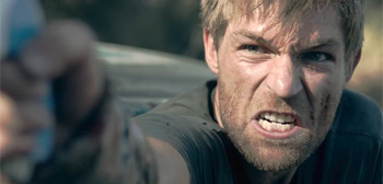 Liam McIntyre & Aundrea Smith Fight Zombies in 'The Clearing' Trailer