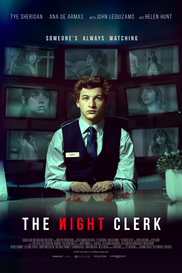 The Night Clerk Poster