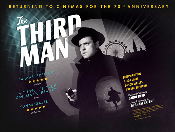 The Third Man UK Quad Poster