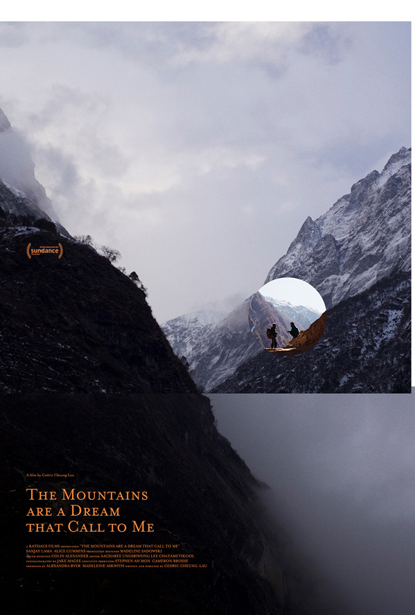 The Mountains Are a Dream that Call to Me Poster