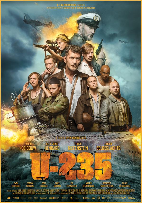 Torpedo U 235 Poster