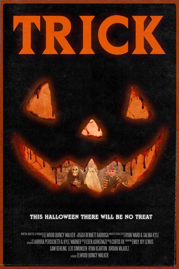 Trick Horror Short Poster
