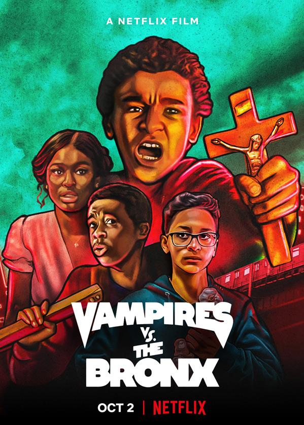 Vampires vs The Bronx Poster