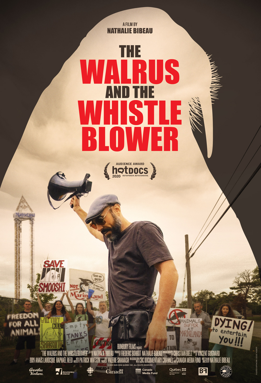 The Walrus and The Whistleblower Poster