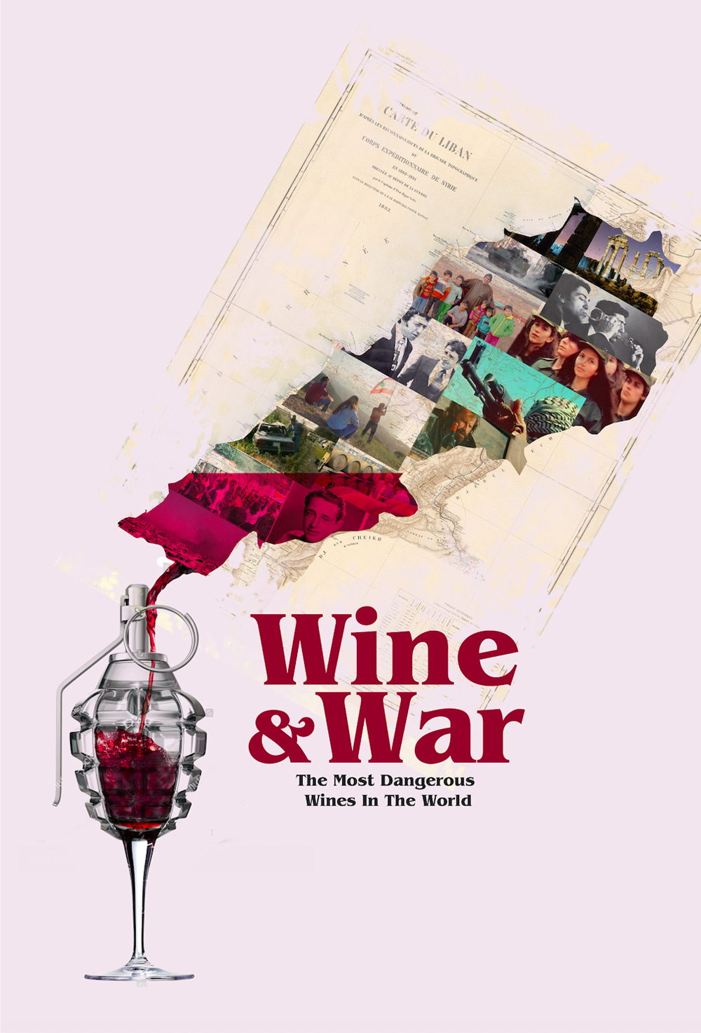 Wine and War Poster