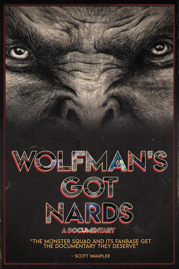 Wolfman's Got Nards Poster