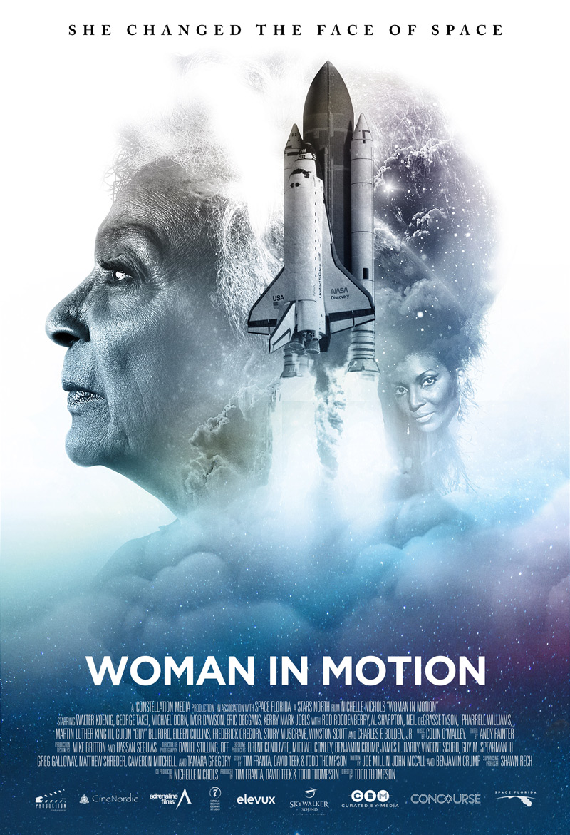 Woman in Motion Poster