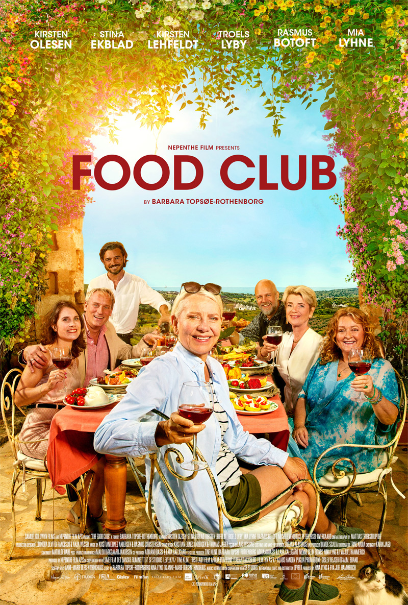 Food Club Poster