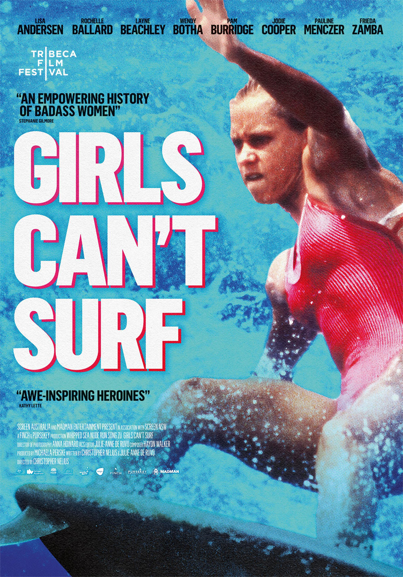 Girls Can't Surf Poster