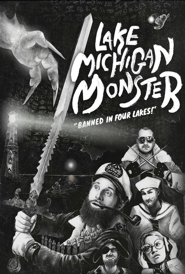 Lake Michigan Monster Poster