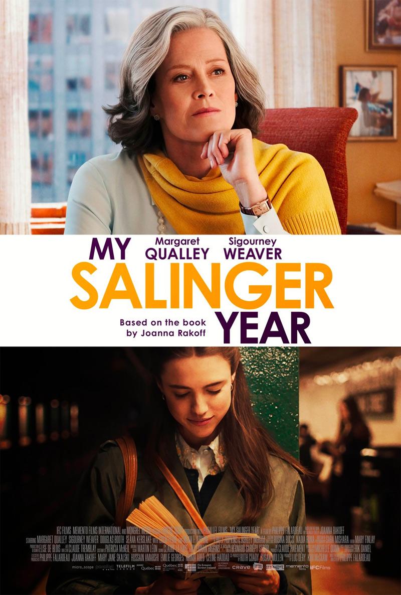 My Salinger Year Poster
