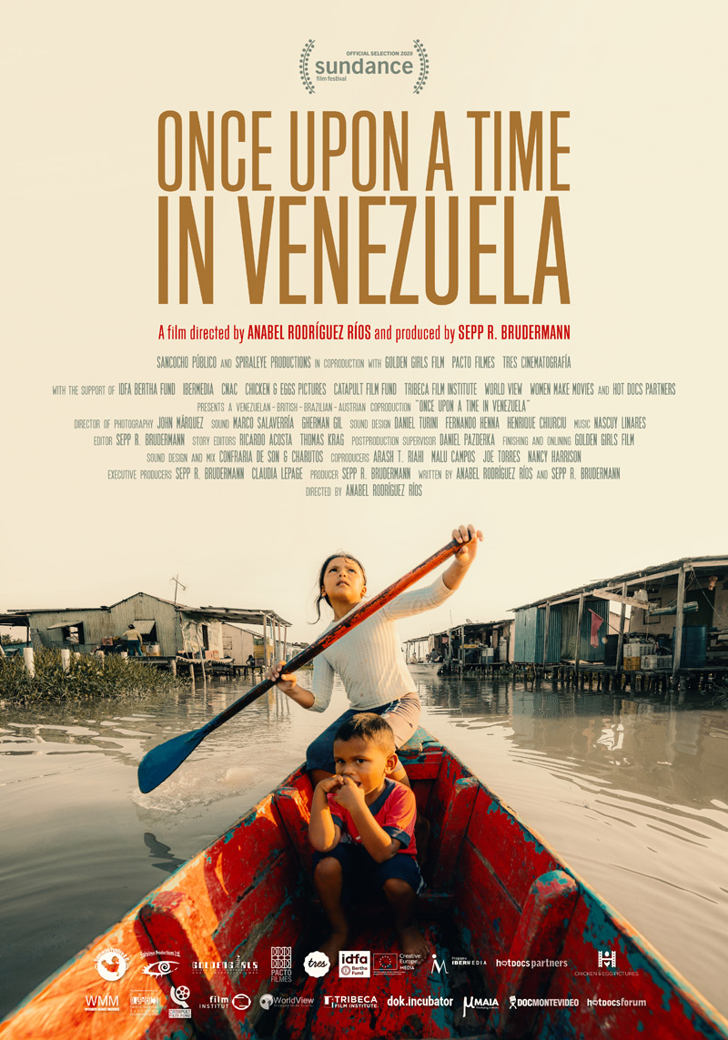 Once Upon a Time in Venezuela Poster