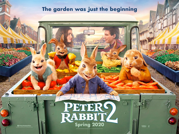 Peter Rabbit 2: The Runaway Quad Poster