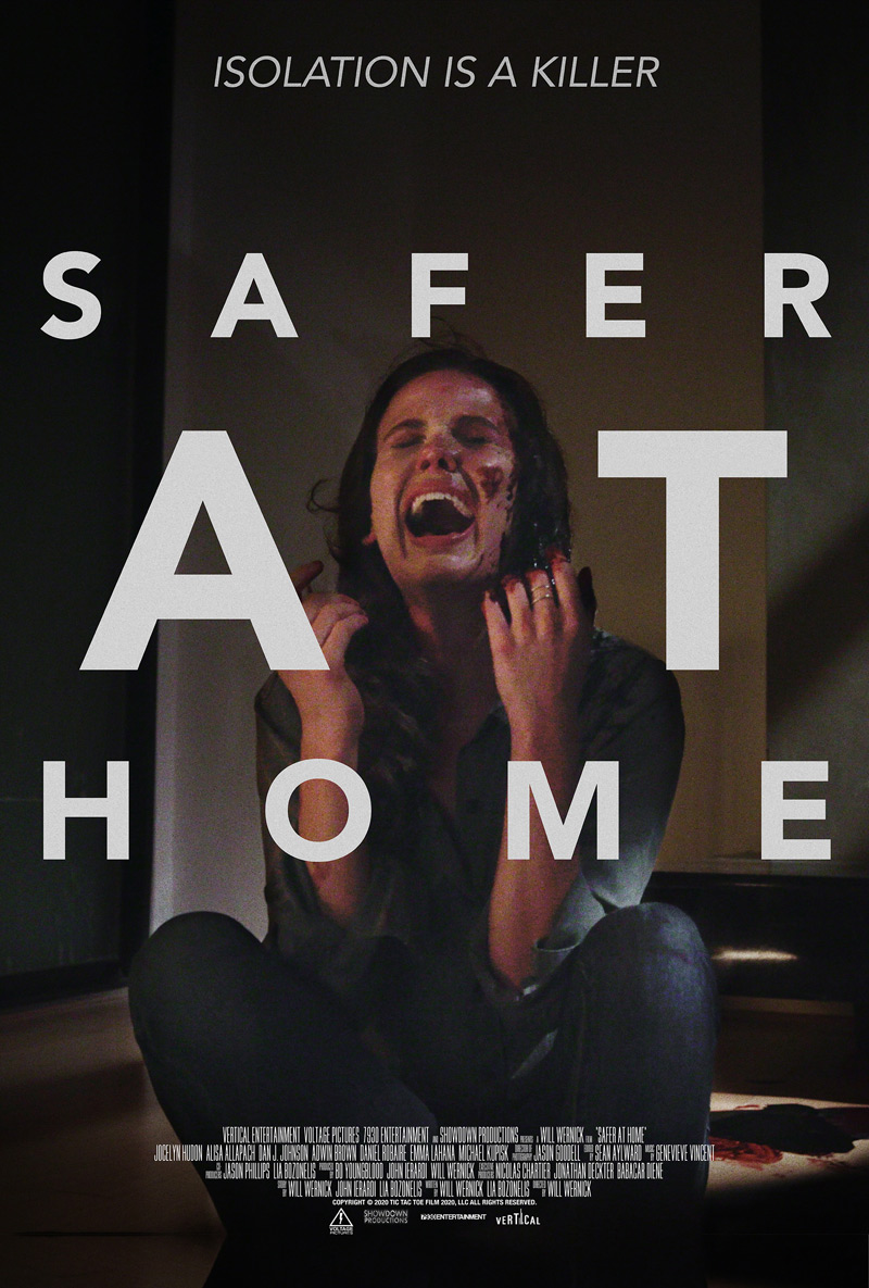 Safer At Home Poster