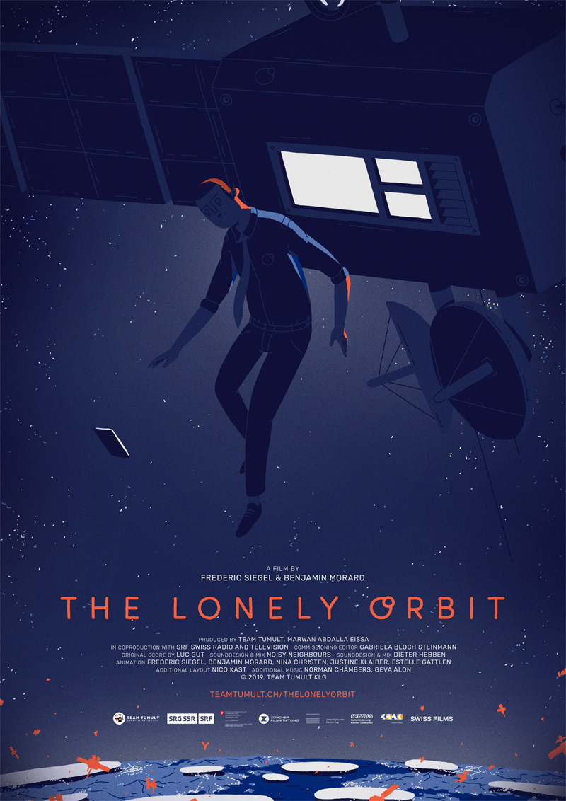 The Lonely Orbit Poster