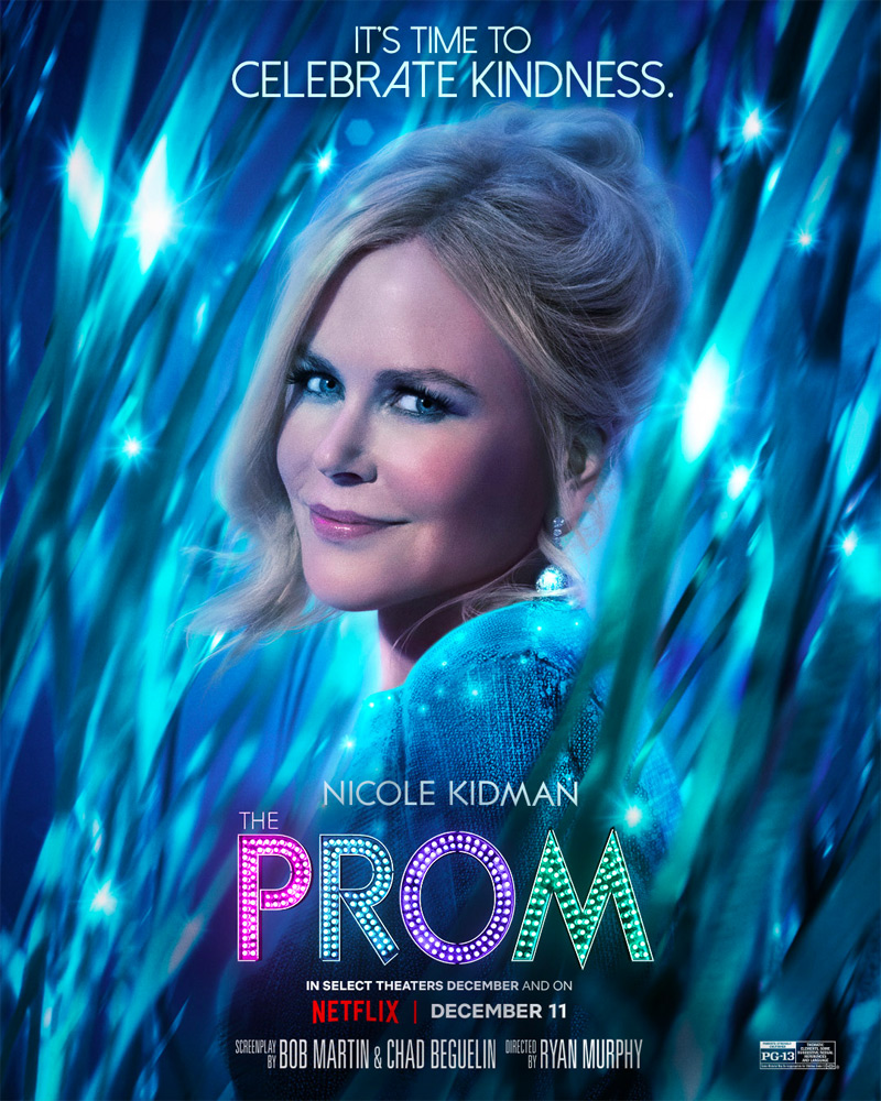 The Prom Poster - Nicole Kidman