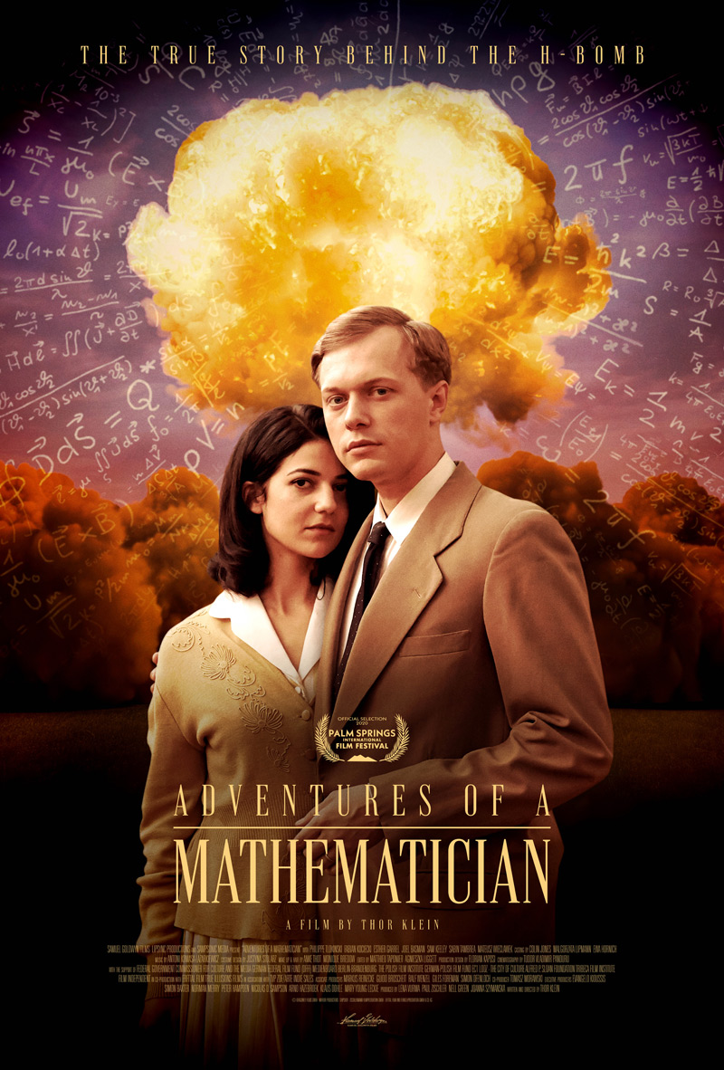Adventures of a Mathematician Poster