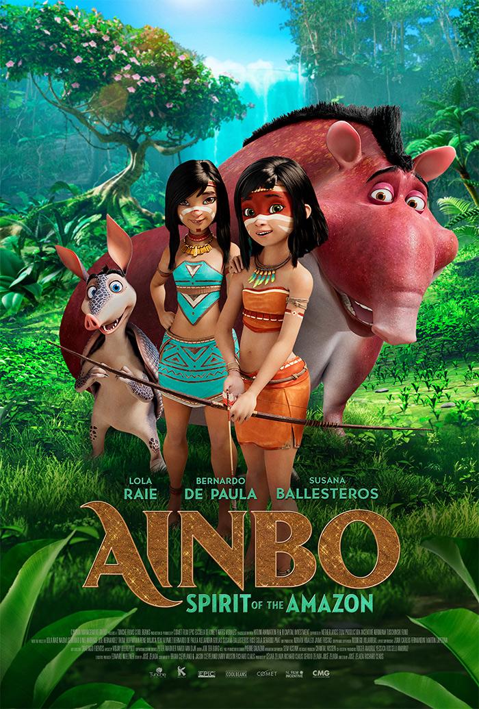 Ainbo - Spirit of the Amazon Poster
